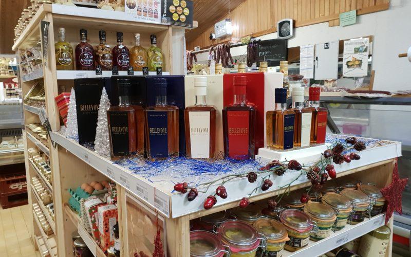 une belle gamme de whiskys